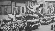 1932 Olympics parade photo by Toyo Miyatake Studios